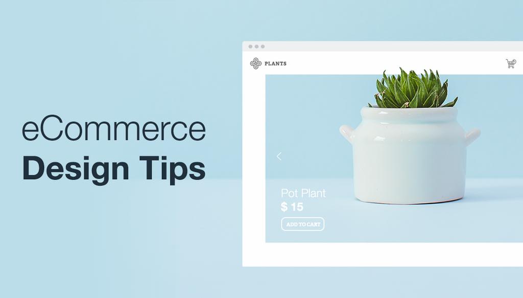 ecommerce web designing tips