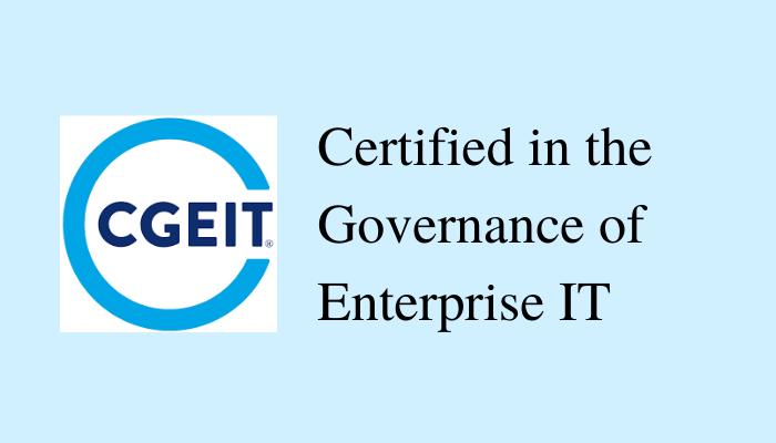 CGEIT Certification