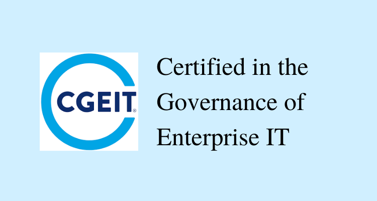 CGEIT Certification